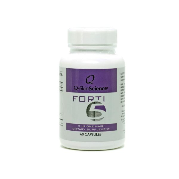 Q-SkinScience Forti5 5 in one hair dietary supplement