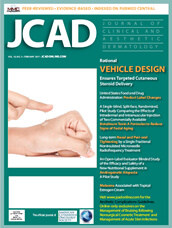 Journal of Clinical and Aesthetic Dermatology (JCAD) Aproved