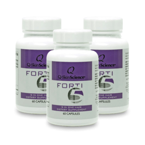 Q-SkinScience Forti5 5 in One Dietary Supplement bundle of three