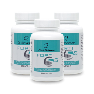 Q-SkinScience Forti5 S Dietary Supplement bundle of three