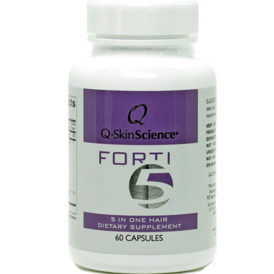 Q-SkinScience Forti5 - 5 in one hair dietary supplement